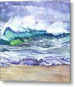 An Ode To The Sea Metal Print by Carol Wisniewski
