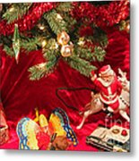 An Old Fashioned Christmas - Santa Claus Metal Print by Suzanne Gaff
