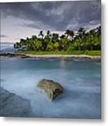Anchor Of The Sea At Koolina Metal Print by Tin Lung Chao