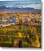 Anchorage Landscape Metal Print by Inge Johnsson