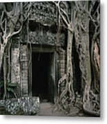 Ancient Angkor Metal Print by Shaun Higson