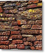 Ancient Wall Metal Print by Carlos Caetano