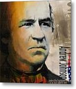 Andrew Johnson Metal Print by Corporate Art Task Force
