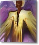 Angel And Guides Metal Print by Linda Marcille