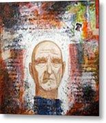Angel And Man 2 Metal Print by Chris Bradley