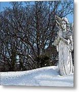 Angel Of Eternal Sunshine Metal Print by Teak  Bird