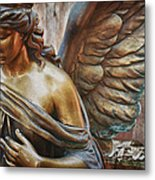 Angelic Contemplation Metal Print by Terry Rowe