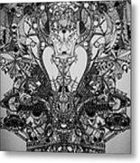 Antichrist Metal Print by Michael Kulick