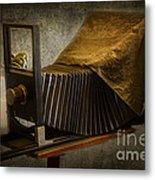 Antique Camera Metal Print by Susan Candelario