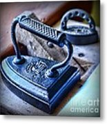 Antique Iron Metal Print by Paul Ward