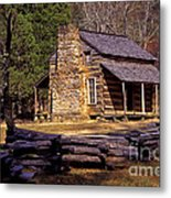 Appalachian Homestead Metal Print by Paul W Faust -  Impressions of Light
