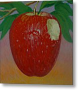 Apple 3 In A Series Of 3 Metal Print by Don Young