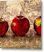 Apple Metal Print by Bob Orsillo