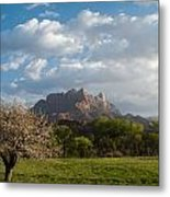 April Showers And New Green Of Spring Rockville Utah Metal Print by Robert Ford