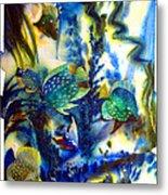 Aquarium Archived Work  Metal Print by Charlie Spear
