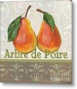 Arbre De Poire Metal Print by Debbie DeWitt