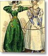 Archery Duchess Metal Print by Berlaz