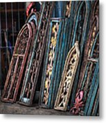 Architecture For Sale Metal Print by Brenda Bryant