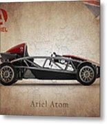 Ariel Atom Metal Print by Mark Rogan