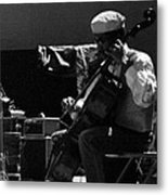 Arkestra Cellist Uc Davis Quad Metal Print by Lee  Santa