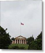 Arlington National Cemetery - Arlington House - 01131 Metal Print by DC Photographer