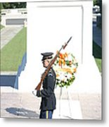 Arlington National Cemetery - Tomb Of The Unknown Soldier - 121214 Metal Print by DC Photographer