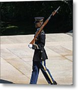 Arlington National Cemetery - Tomb Of The Unknown Soldier - 12124 Metal Print by DC Photographer