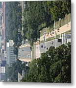 Arlington National Cemetery - View From Arlington House - 12125 Metal Print by DC Photographer