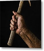 Arm And Hammer Metal Print by Diane Diederich