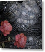 Armour And Rose 2 Metal Print by Jack Zulli