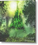 Arrival To Oz Metal Print by Mo T