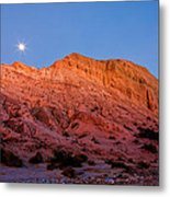 Arroyo Moonrise Metal Print by Peter Tellone