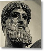 Artemision Zeus Metal Print by David Waldo