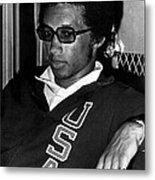 Arthur Ashe With Sunglasses Metal Print by Retro Images Archive
