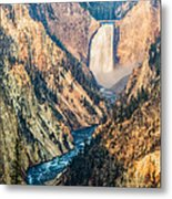 Artist Point In Yellowstone Metal Print by Andres Leon