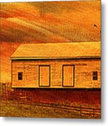 As The Sun Sets Metal Print by Kathy Jennings