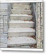 Ascend Descend Metal Print by George Guarino