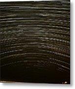 Assateague Star Trails Metal Print by Benjamin Reed