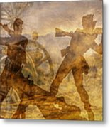 At A Place Called Gettysburg Ver Two Metal Print by Randy Steele