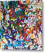 at the age of three years Avraham Avinu recognized his Creator Metal Print by David Baruch Wolk