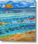 At The Water's Edge Metal Print by Susan Rienzo