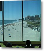 Atlantic City - 12124 Metal Print by DC Photographer