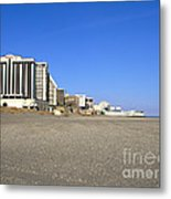Atlantic City New Jersey Metal Print by Olivier Le Queinec
