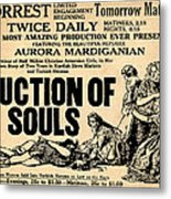 Auction Of Souls Metal Print by Digital Reproductions