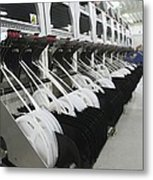 Automated Circuit Manufacture Metal Print by Science Photo Library