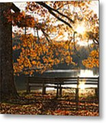 Autumn Beauty Metal Print by Debra and Dave Vanderlaan