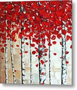 Autumn Metal Print by Denisa Laura Doltu