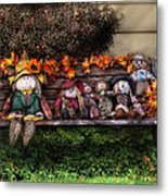 Autumn - Family Reunion Metal Print by Mike Savad