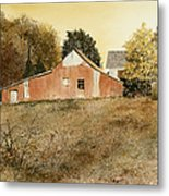 Autumn Glow Metal Print by Monte Toon