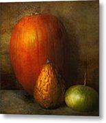 Autumn - Gourd - Melon Family  Metal Print by Mike Savad